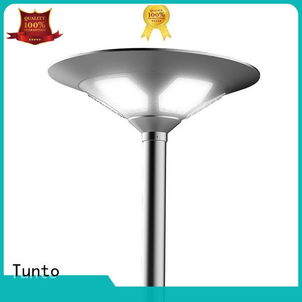 Tunto intelligent solar garden lamps with good price for garden