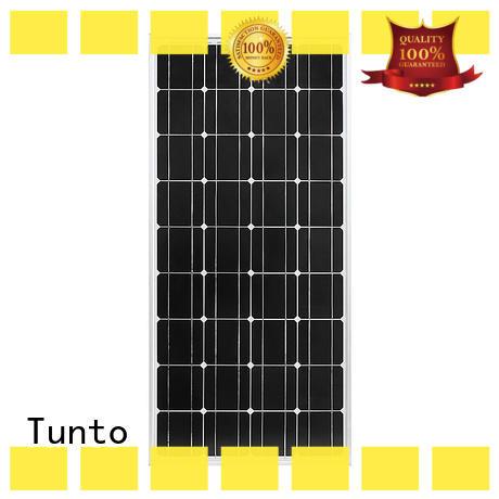 Tunto high quality monocrystalline solar panel wholesale for solar plant
