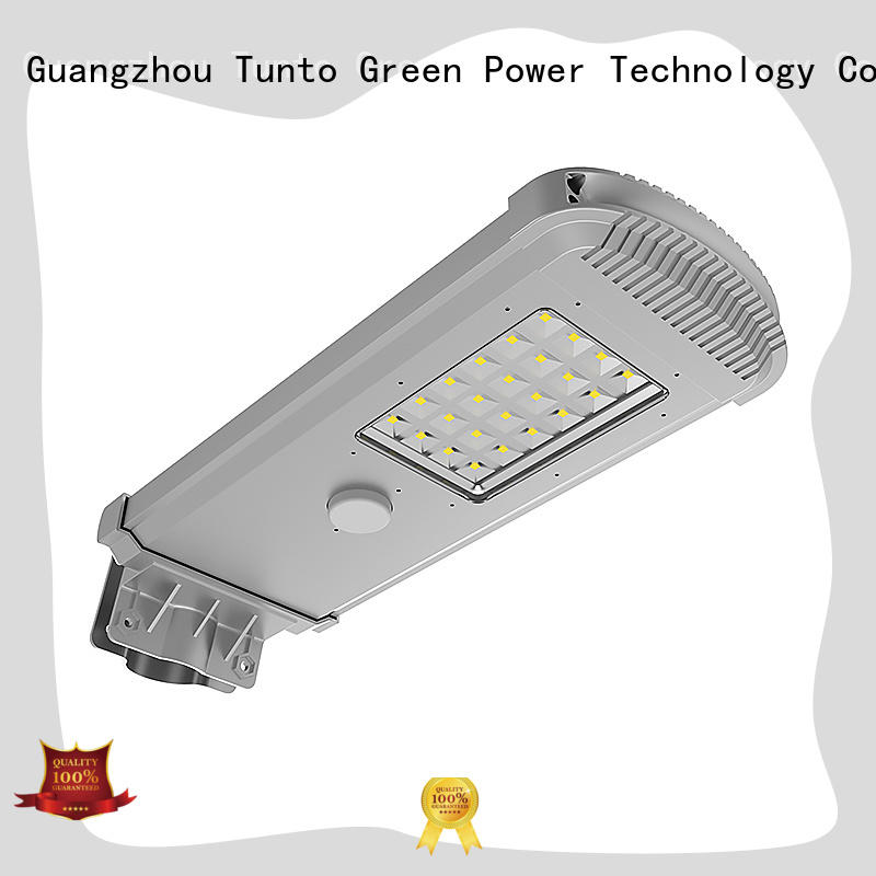 Tunto energy saving best solar powered outdoor lights powered for parking lot