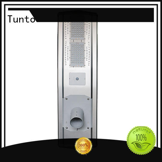 Tunto warm solar street light price list wholesale for plaza