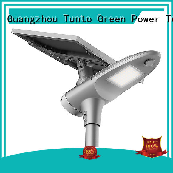 Wholesale bright saving solar powered street lights Tunto Brand