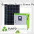 Tunto 5kw off grid solar panel kits customized for plaza