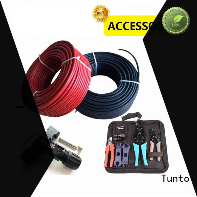 Tunto greases resistance 4mm solar cable with good price for street
