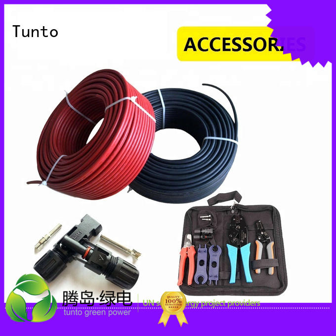 Quality Tunto Brand solar cable price quality cable