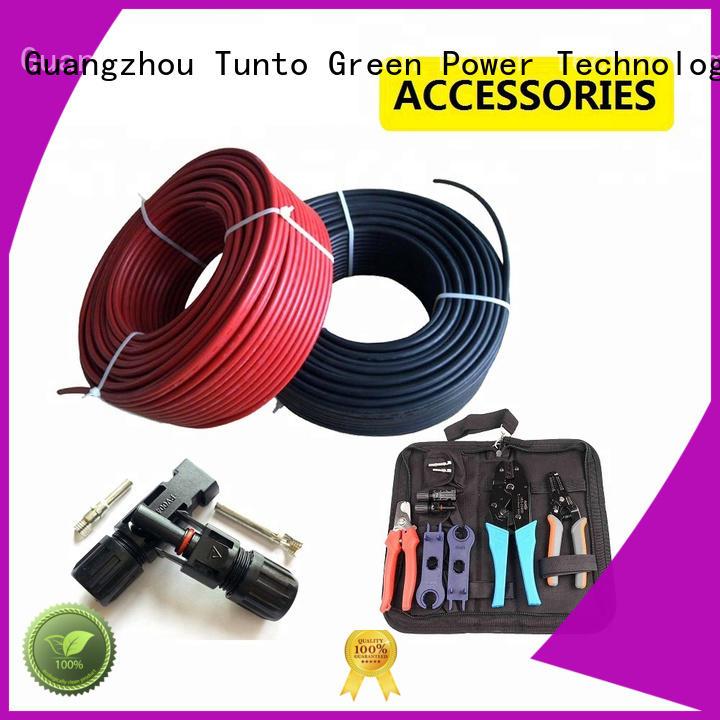 cables pv solar Tunto Brand solar cable price manufacture