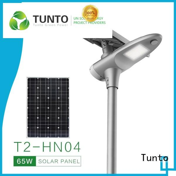 Tunto 6000w off grid solar power systems series for road