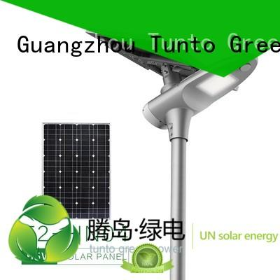 led street light solar system portable polycrystalline solar panel Tunto Brand