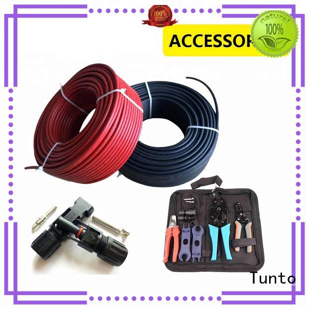 solar panel cable design for road Tunto