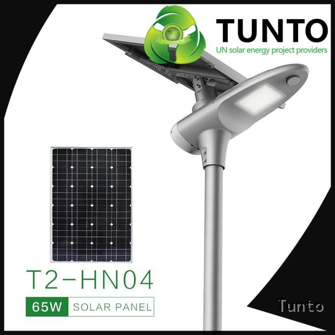 Tunto 3kw polycrystalline solar panel directly sale for road