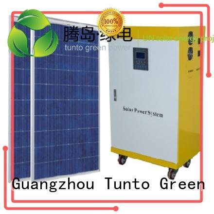 application solar home led street light solar system Tunto Brand