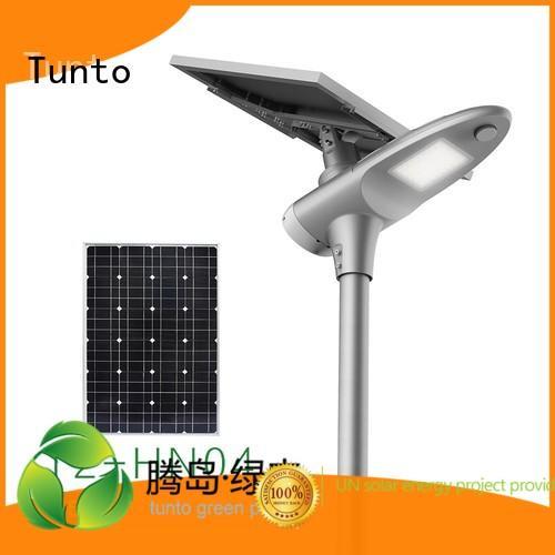Tunto Brand grid solar led street light solar system system