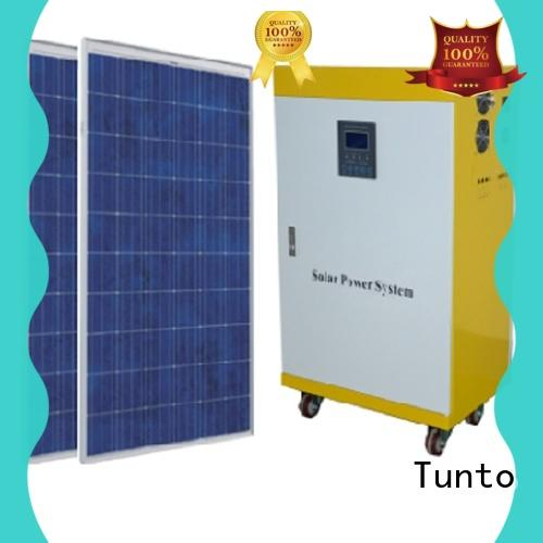 Tunto portable 300 watt monocrystalline solar panel 3kw for plaza