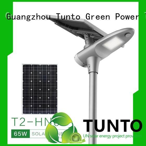 Tunto monocrystalline solar panel from China for road