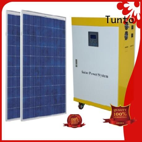 1000w off grid solar panel system manufacturer for street Tunto