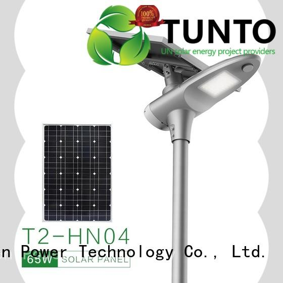 Tunto off grid solar inverter from China for plaza