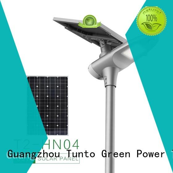 system mini Tunto Brand led street light solar system factory