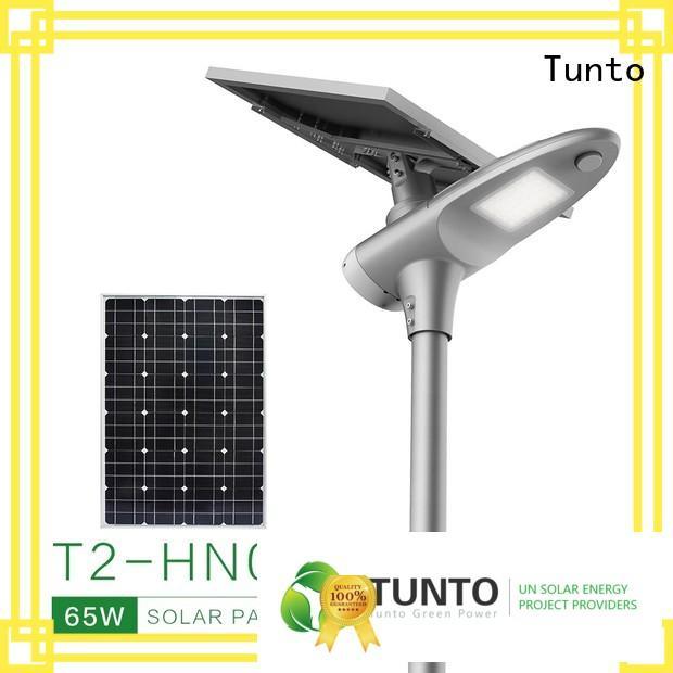 Tunto mini solar generator system manufacturer for street