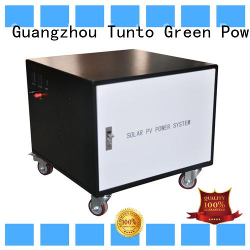 1000w solar generator kit series for road