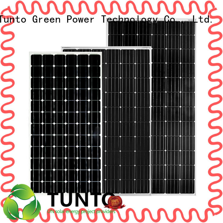 multicrystalline solar panels for solar plant Tunto