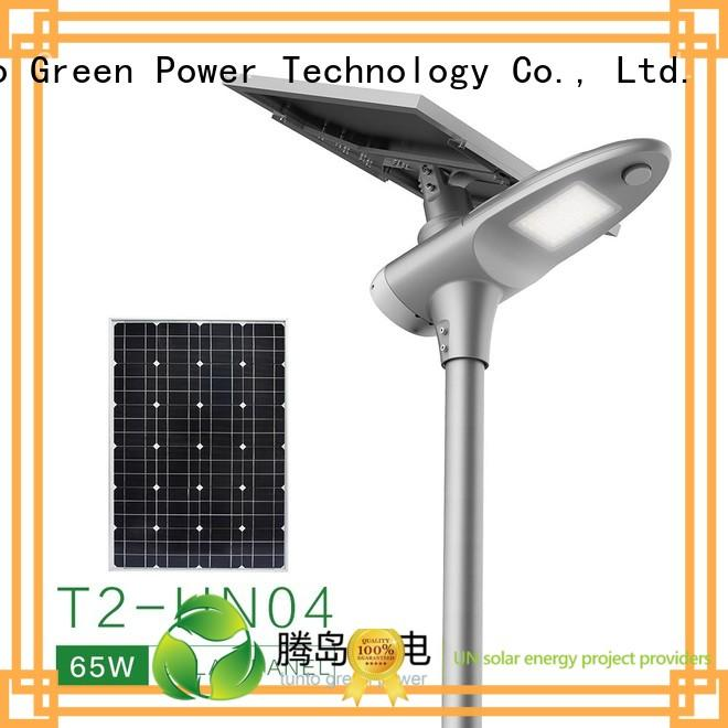 power saving lot Tunto Brand solar powered street lights