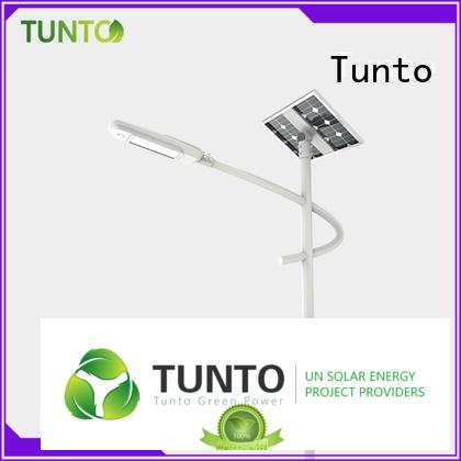 quality solar street light manufacturer supplier for parking lot