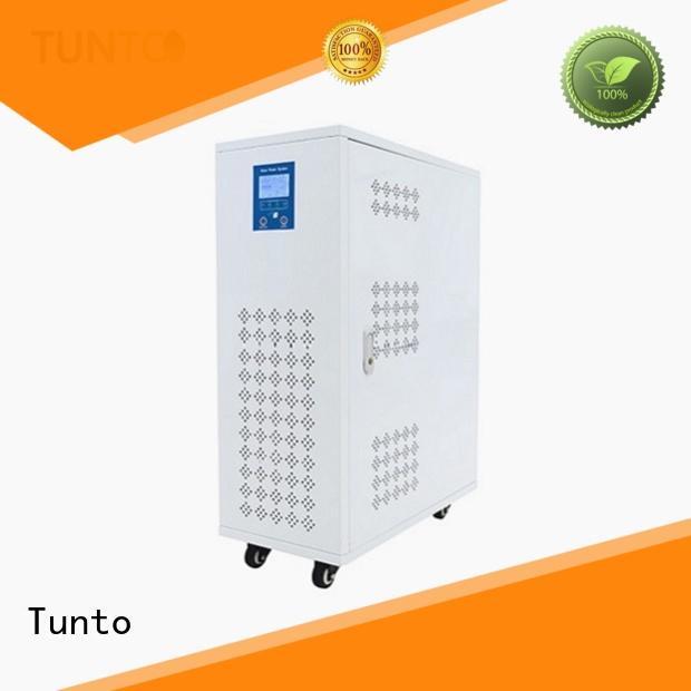 Tunto 600w solar generator kit directly sale for plaza