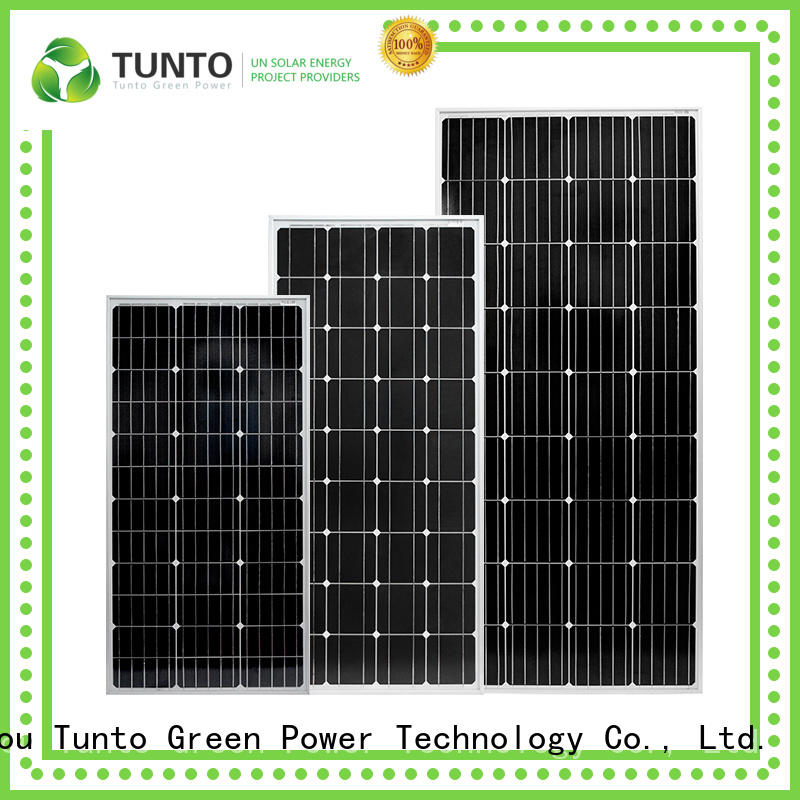 100w monocrystalline solar panel supplier for farm Tunto