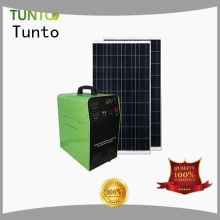Tunto solar inverter system from China for outdoor