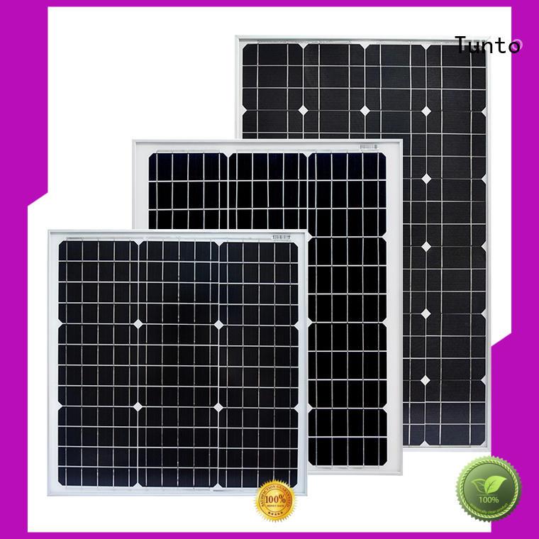 Tunto panel20w monocrystalline solar panel supplier for farm