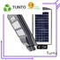 Tunto solar street light price list wholesale for outdoor
