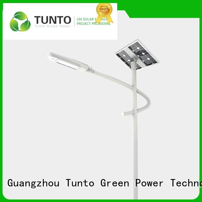 Tunto off grid solar power systems directly sale for plaza