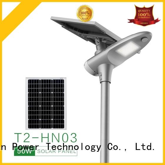 50w solar led street light factory price for parking lot
