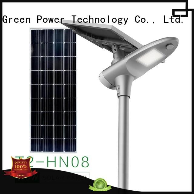 integrated solar led street light cool lot parking Warranty Tunto