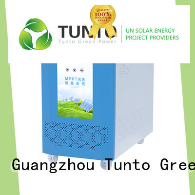 Tunto carborne solar inverter system factory price for lamp