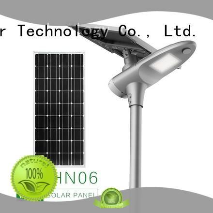 supper solar panel light pole motion sensor for parking lot Tunto