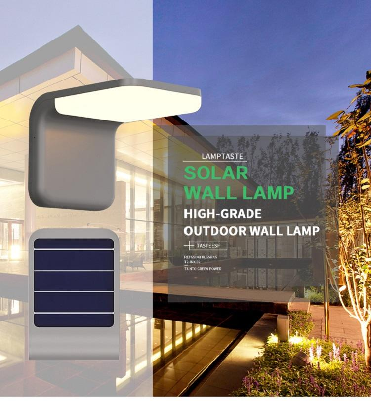 solar sensor lights outdoor with good price for household Tunto-1