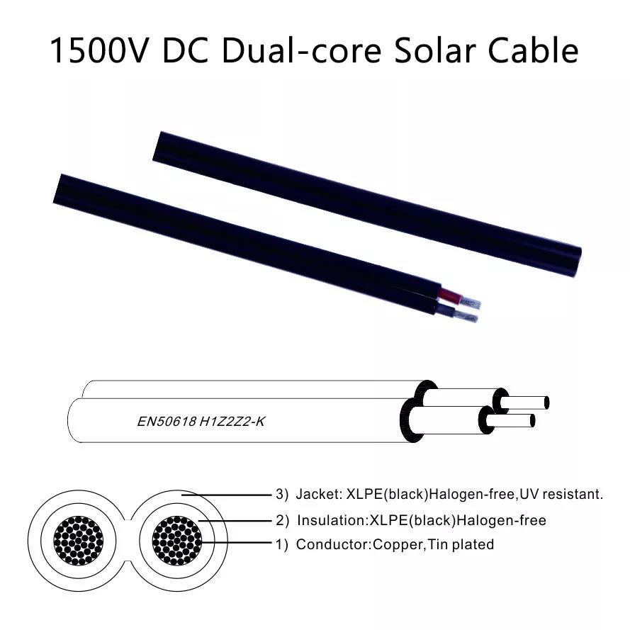 blue solar panel cable design for garden-2