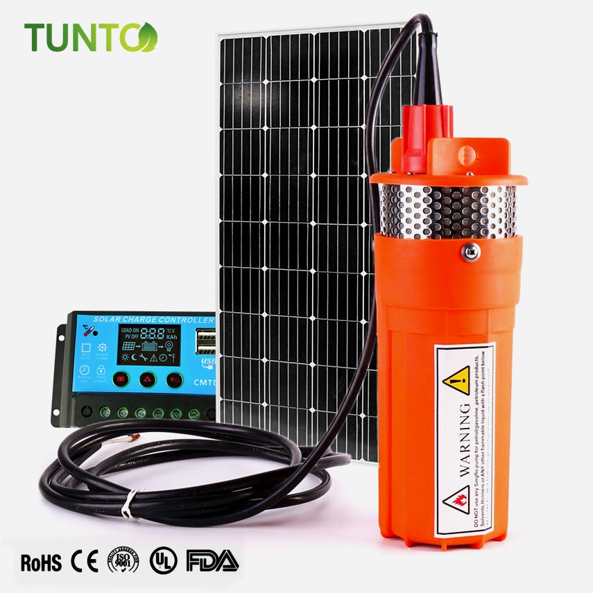 Tunto dc solar powered pump from China for garden-1