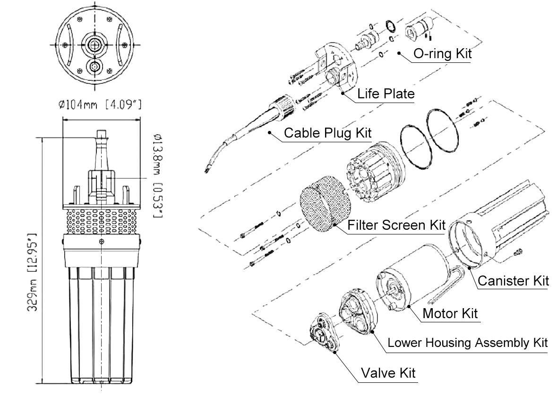 Tunto solar powered pump manufacturer for irrigation-3