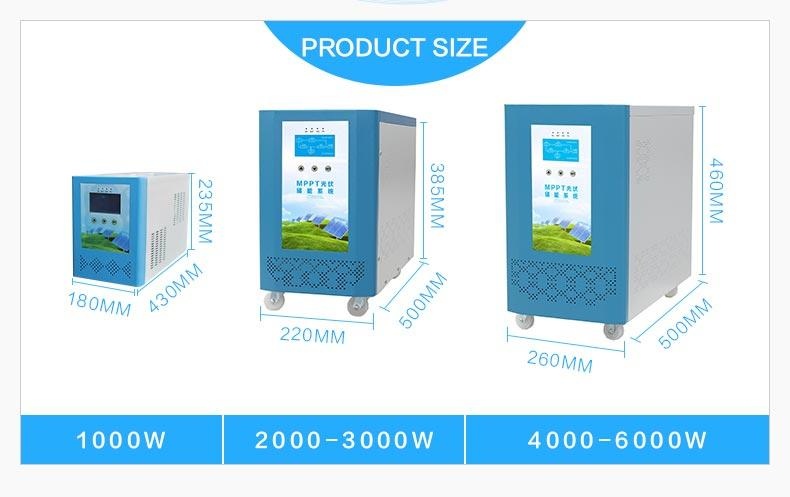 pure solar inverter system factory price for car-3