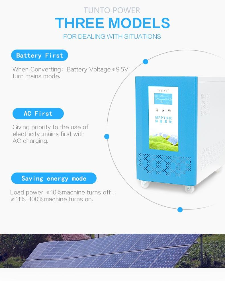 Tunto solar inverter system personalized for car