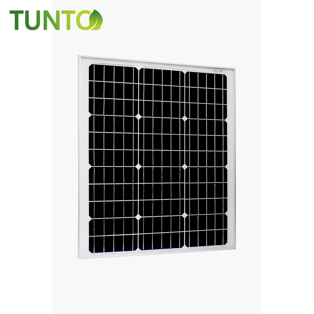 2019 new solar panel,50W momo solar panel