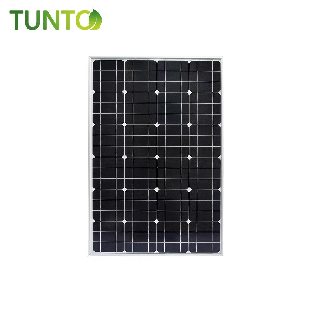 2019 new solar panel,60W momo solar panel