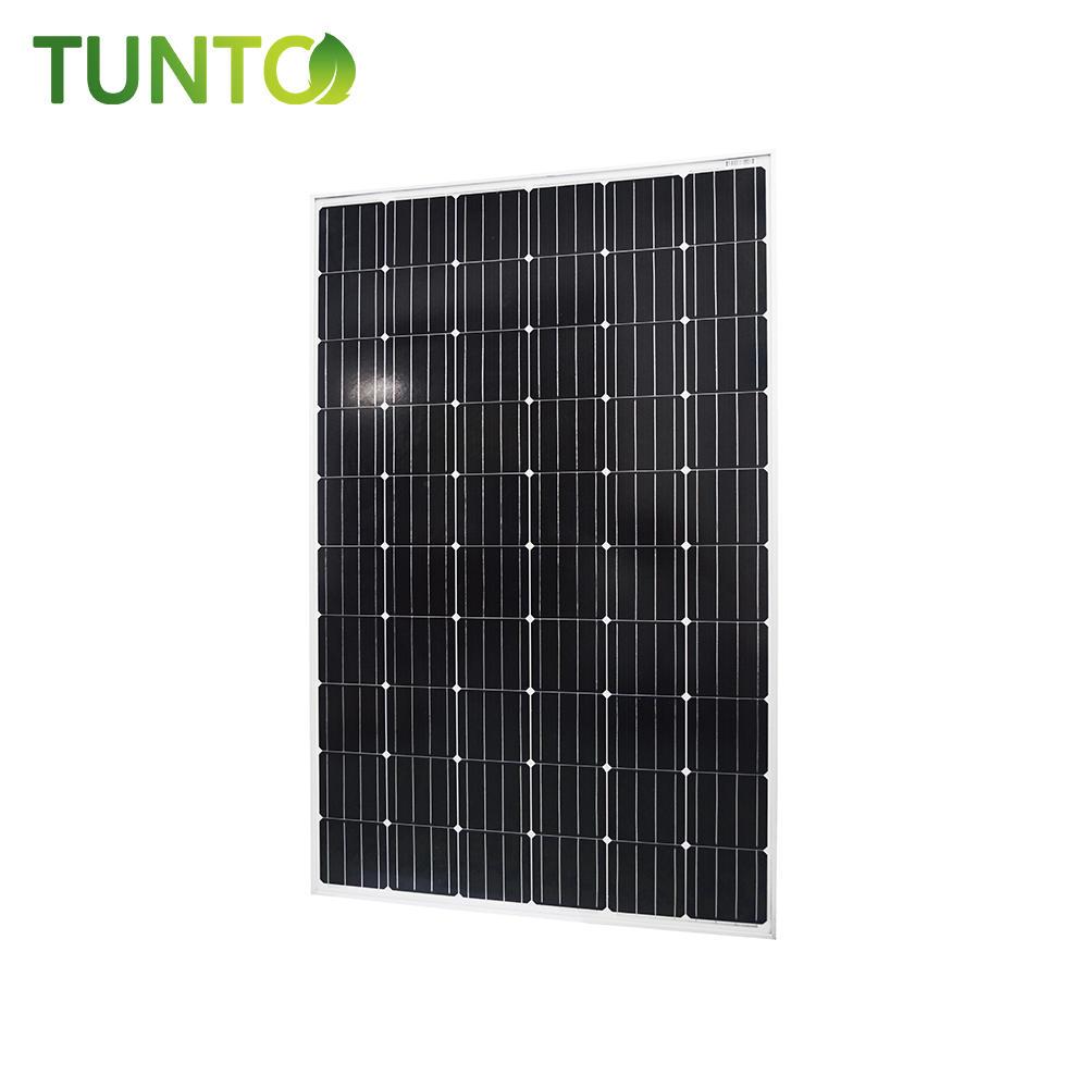 2019 new solar panel,250W momo solar panel