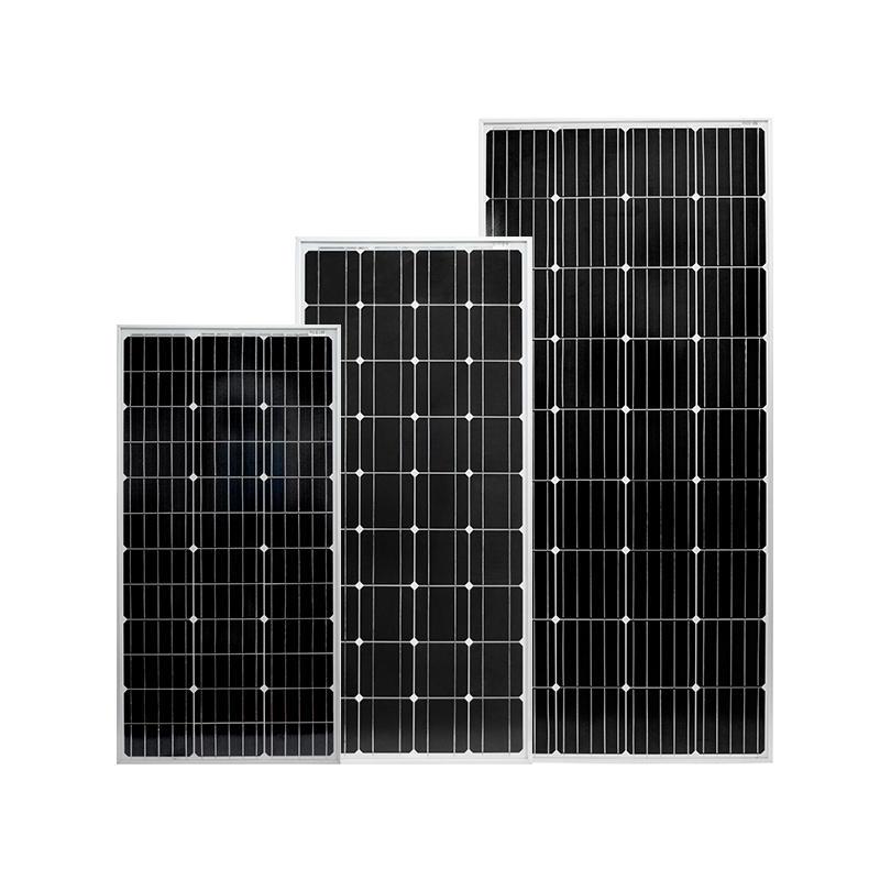 2019 new solar panel,100W momo solar panel