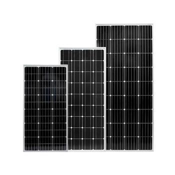 2019 new solar panel,150W momo solar panel