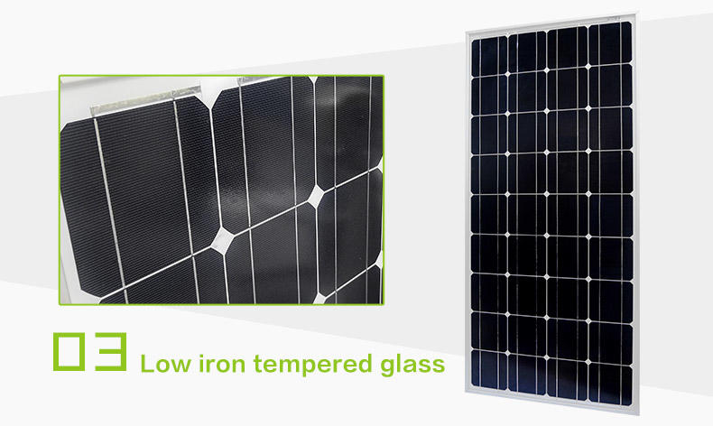 Tunto monocrystalline solar panel personalized for household
