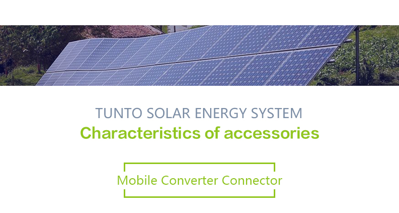 Tunto portable off grid solar kits customized for outdoor-5