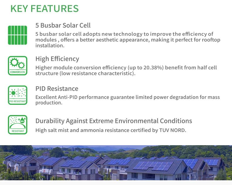 Tunto 15w bright solar lights series for garden-2