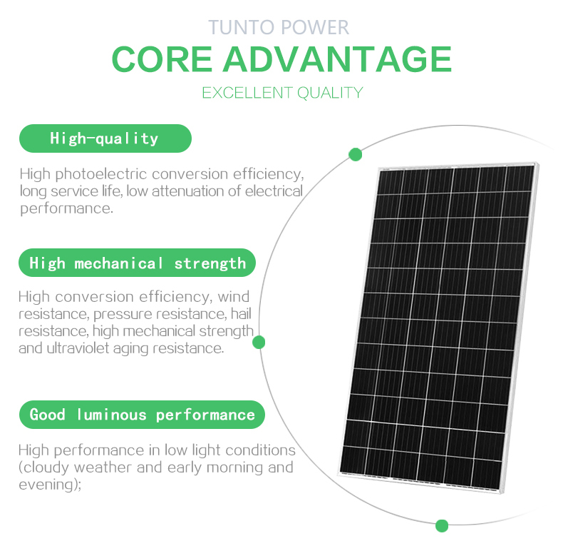 Tunto 15w bright solar lights series for garden-3